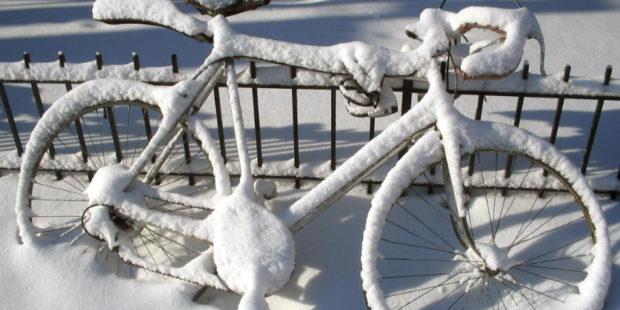 Kan jeg bruke elsykkelen om vinteren?